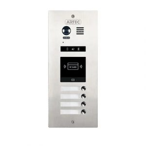 Outdoor station 4 Button,Access Card DMR21/ID/S4
