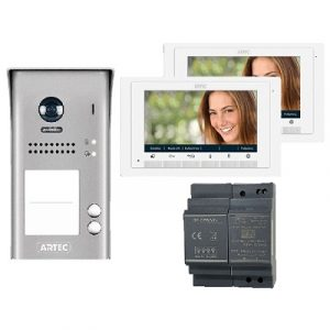 """VIdeophone Kit 7"""" Double Monitor"""